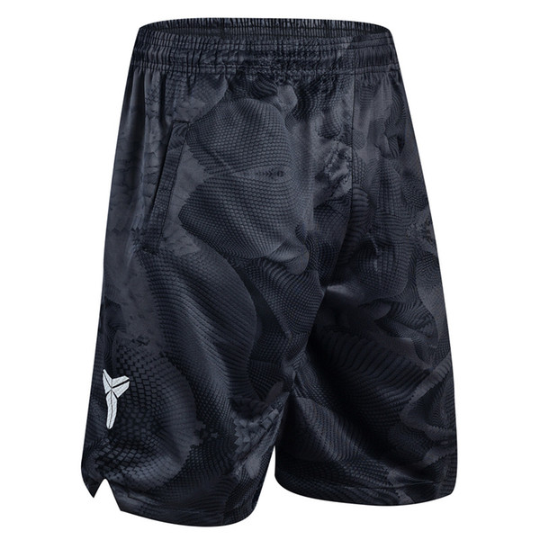 best selling Men Shorts Basketball Pants Sports Shorts Black Mamba Camouflage KD Polyester Knee Length Breathable Quick-drying Training Active M-3XL