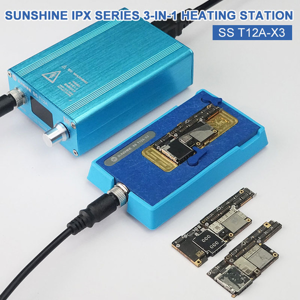 best selling IC Chips Desoldering Station SS-T12A CPU Motherboard Separator for X XS XSMAX CPU Android Mainboard Face ID Desoldering