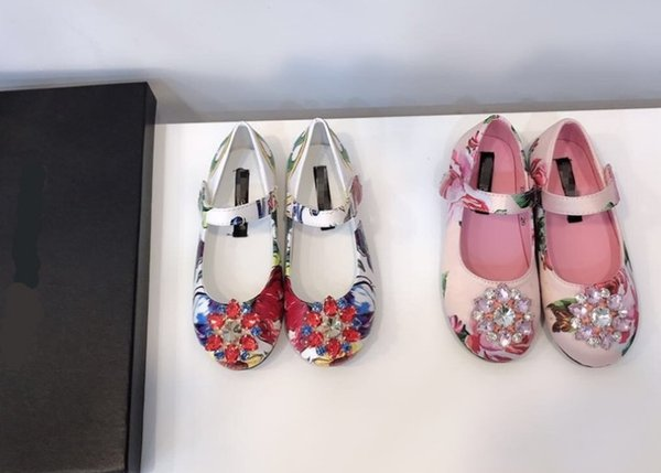 Nuova principessa Scarpe e Scarpe per bambini in primavera ed estate del 2019