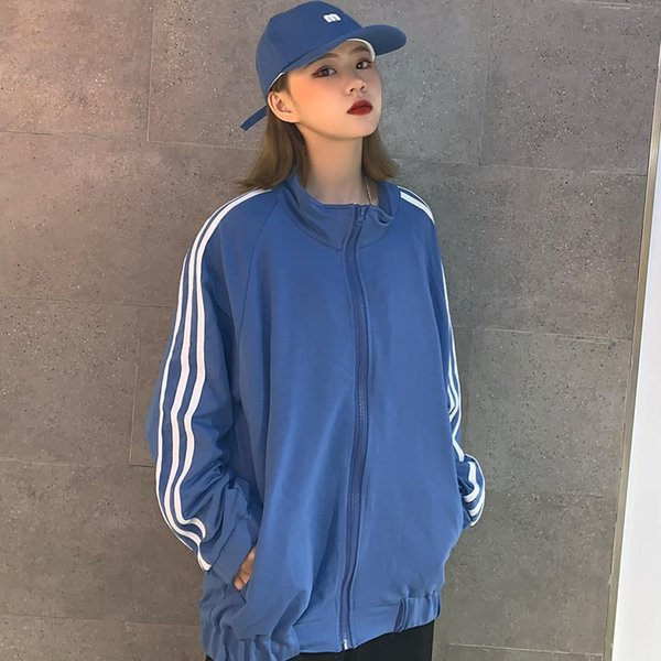 Designetr jacke jacket luxury sweatshirt stand collar long sleeve fall sports zipper brand trench coat women B101224D