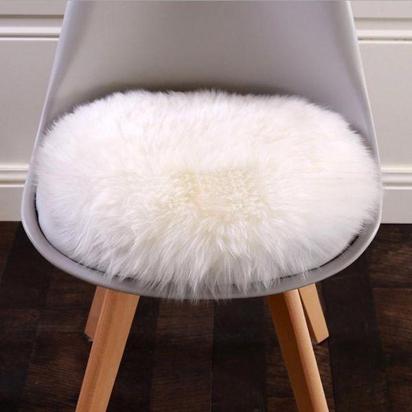 HOMEGD Soft Artificial Sheepskin Rug Chair Cover Artificial Wool Warm Hairy Carpet Seat Pad 18Mar26 Drop Ship