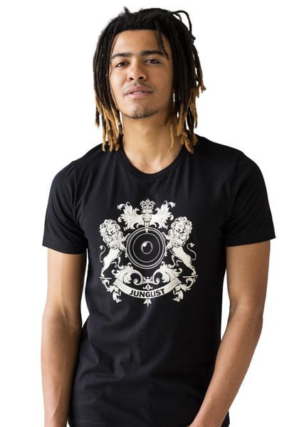 Junglist Crest T-Shirt Neurofunk Hoodie Hip Hop T-Shirt Jacke Kroatien Leder T-Shirt Denim Kleidung Camiseta T-Shirt