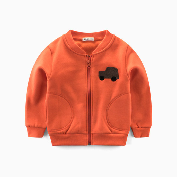 2019 Spring Boys ' Jackets with small Pattern kids clothes and mother boy clothes sweatshirts hoodies for teenagers clothes