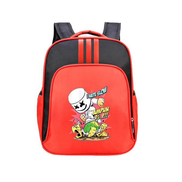 l'atteggiamento migliore 71292 27664 Acquista DJ Marshmello Zaino Studente Impermeabile Zaino Kids Boy Girls  Marshmallow Face Smile Bookback Guy School Bag Adolescente A $25.56 Dal ...