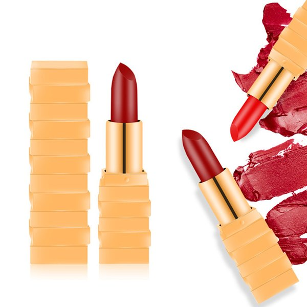 ICYCHEER 12 Colors Makeup Lipstick Matte Waterproof Lipsticks Sexy Red Velvet Lipgloss Non-stick Cup Nude Natural