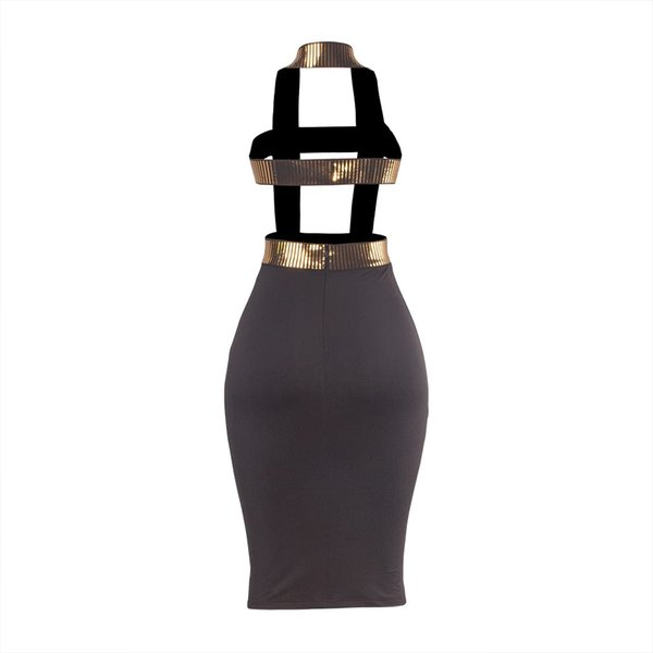 Womens Designer Dress Sexy Backless Dresses Luxury Printed Perspective Clothes Fashion Party Queen Egyptian Style for Ladies 2019 Summer Hot