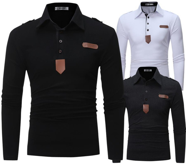 2020 luxury fashion mens designer polo shirts Men High quality Polo shirt T shirts Man Lapel Long sleeves Men's Clothing hot sale T508 111111111111222222111111111111222222222211111111111122222222222222