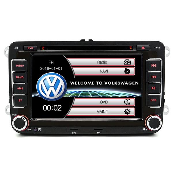 Junsun DVD - 7,0 - CE com Retrovisor Câmera de 7,0 polegadas 2 Din In-dash Wi-fi Car DVD MP3 Player Touch Screen / Bluetooth V2.0 / Rádio FM ......