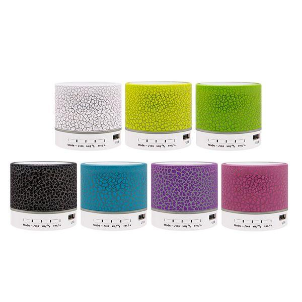 Bluetooth altavoz Crackle bluetooth regalo TF tarjeta USB teléfono celular altavoz inalámbrico flash mini caja de altavoz