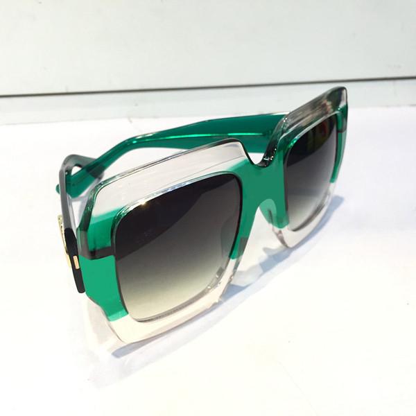 GUCCI GG0178 Роскошные Дизайнерские Солнцезащитные Очки Для Женщин Мода Круглый Летний Стиль Черное Золото Рамка очки Высочайшее Качество УФ-Объектив