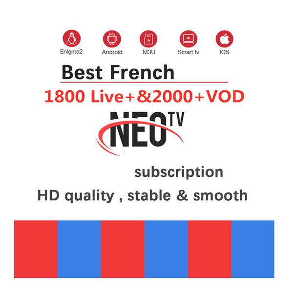 Neotv Pro 1year Subscription Arabic Europe French Polish France African  Spanish Smart Tv Code M3U Free Test Android Box Tv Best Android Tv Box From
