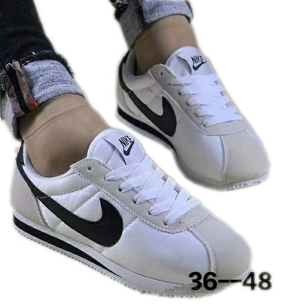 Großhandel Lässige CLASSIC CORTEZ QS Support Sneakers Training Mode Damen Und Herren Schatz Schuhe Belüftung Sportschuhe EURO 36 48 Von Perfect9988,