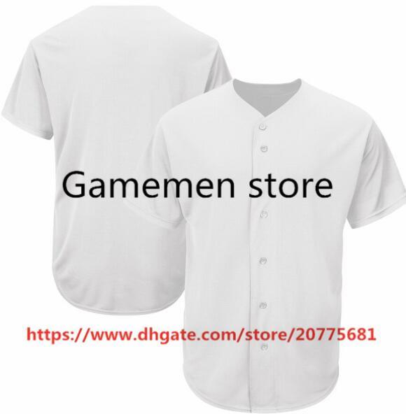 Gamemen mağaza SP80 Beyzbol Formalar Erkekler Kadınlar Gençlik Kid Yetişkin Lady Herhangi Kendi İsim Numara S-4XL Dikişli kişiselleştirilmiştir