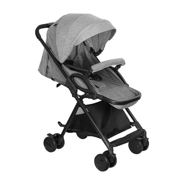 5,9 kg Leichte Kinderwagen Hohe Landschaft Allrad Trolley Folding Tragbare Kinderwagen Kinderwagen für Neugeborene