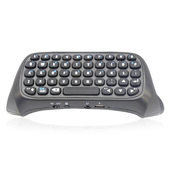 Mini Clavier Sans Fil Avec Souris Touchpad Pour PS4 Rétro-Éclairé Bluetooth Rechargeable Clavier Adaptateur Messager Chatpad