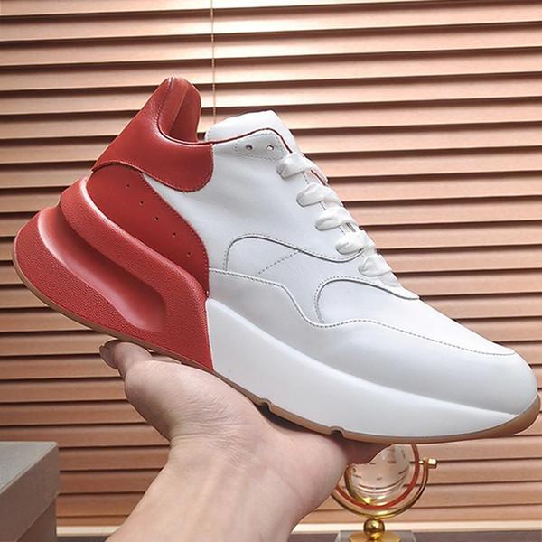 Zapatos de hombre de moda Sneaker Zapatos transpirables de hombre Zapatos de hombre para correr Zapatos de cuero inusual Tamaño grande Diseño de gran tamaño Q33 Chaussures pour homme