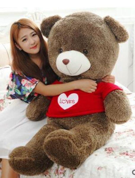 Large sweater hug bear plush toy teddy bear doll doll toy wholesale