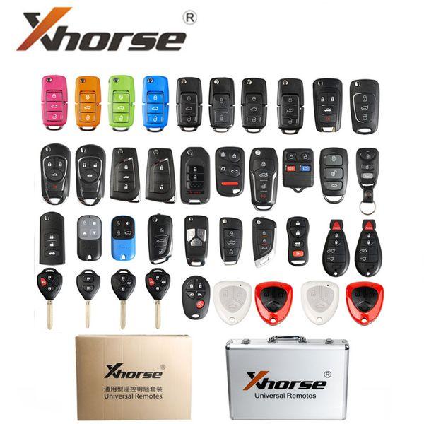 XHORSE Universal Remotes Key Shell English Version One set ( 39 pcs ) package for VVDI2 or VVDI Key Tool