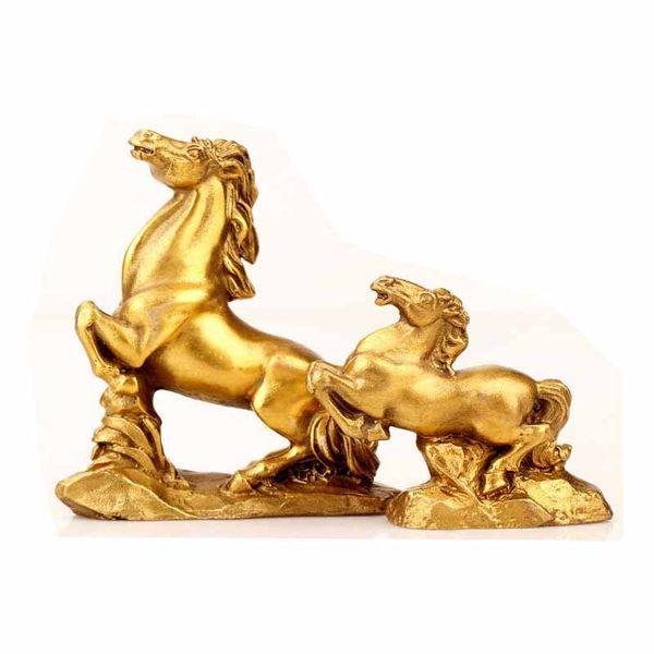 Oriental China Feng Shui Decor Goat Statue Money Lucky Zodiac Animal Figures Figurines & Statues