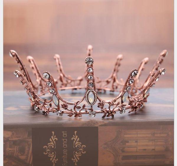 Coroa europeia coroa de diamantes acessórios vestido de noiva coroa de cabelo