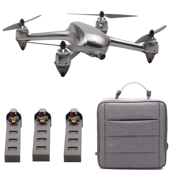 MJX B2SE Fırçasız RC Drone 5G WiFi FPV 1080 P HD Kamera GPS Rakım Tutun Quadcopter RTF Ile Bir / İki / Üç Piller