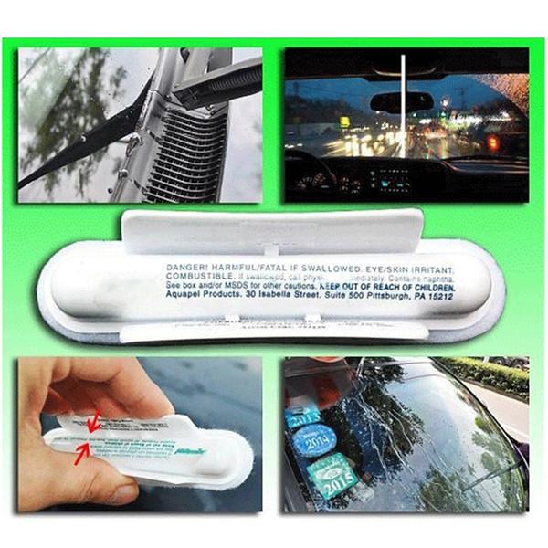 Aquapel Görünmez Silecekler Araba / iç Pencere / gözlük Fırça Wimdow Gözlük Temizleme Fırçaları Ev Temizleme Araçları 300 adet