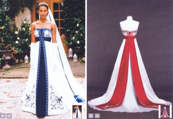 Bridal Ball Gown Strapless White