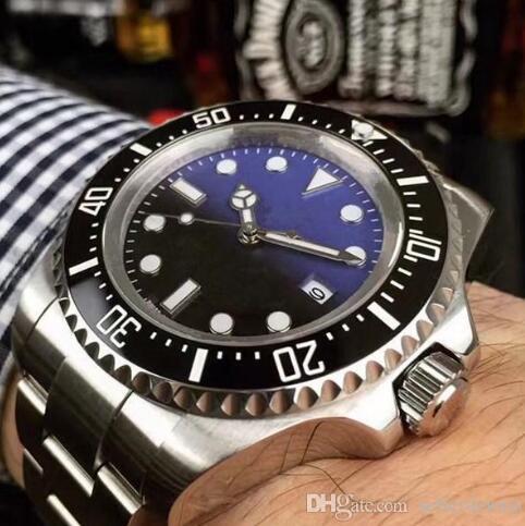 Luxus Herrenuhr SEA-DWELLER Keramik Lünette 44mm Stanless Stahl 116660 Automatische Hohe Qualität Business Casual Herrenuhr Armbanduhr