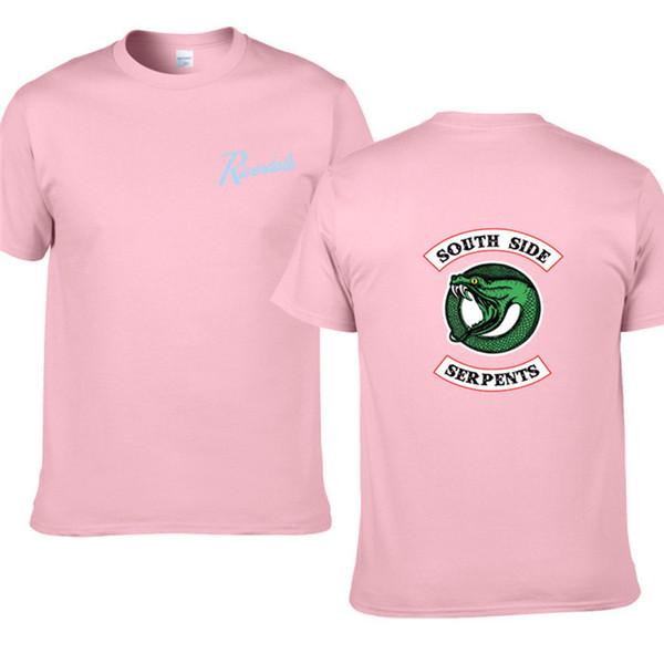 Neue Art- und WeiseRiverdale T-Shirt Mannbaumwollkurzschlußhülsen beiläufige Riverdale Shirtmänner übersteigt T-Stücke Freies Verschiffen H11