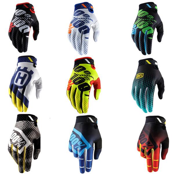 HOT SALE !Summer Full Finger Motorcycle Gloves Gants Moto Luvas Motocross Leather Motorbike Dirt Bike ATV Racing Gloves
