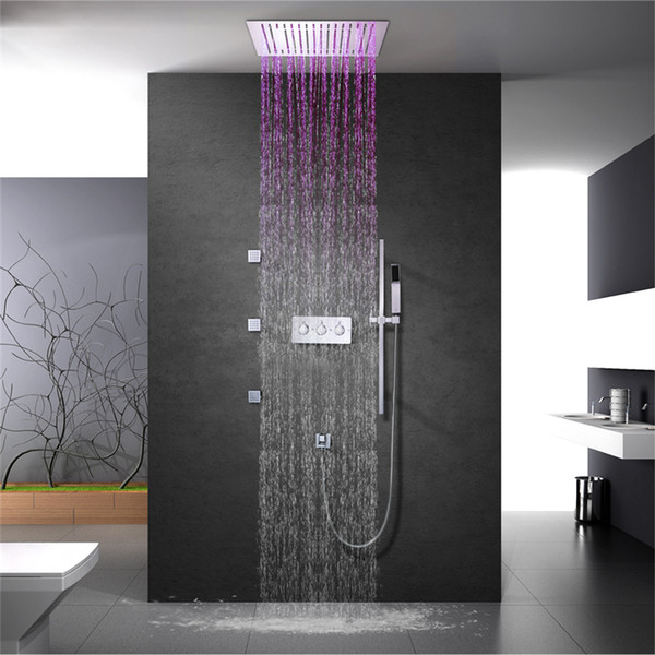 LED Embedded Wand Deckenmontage Dusche 16