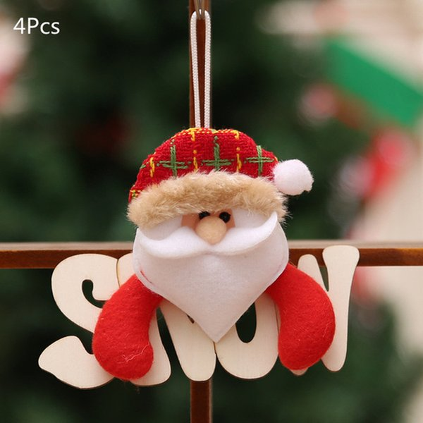 Санта-Клаус-4шт