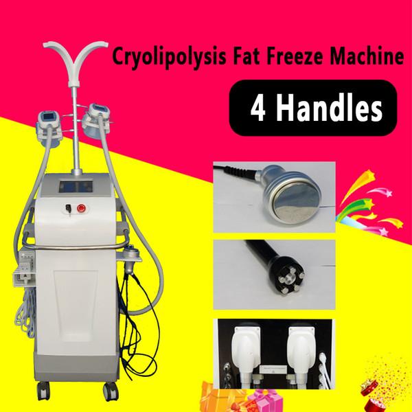 Cryolipolysis Fat Freeze Machine 4 Maniglie Zeltiq Lipolysis Cool Body Scolpitura Lipolaser Cavitazione Spa Salon Usa Cryo Slimming Equipment