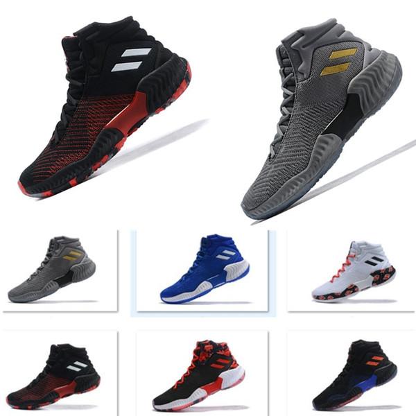 2019 nouvelle fasihion pro bounce haute Donovan Mitchell basketba sport chaussures formation de sport entraînement original chaussures de sport designer
