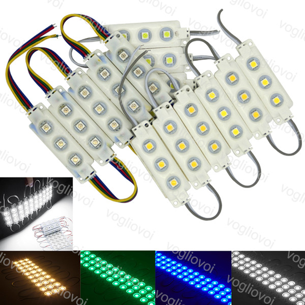 best selling LED Modules SMD 5050 Store Front Window Light Sign Lamp Injection White IP68 Waterproof Strip Light Led Backlight Super Brightness DHL