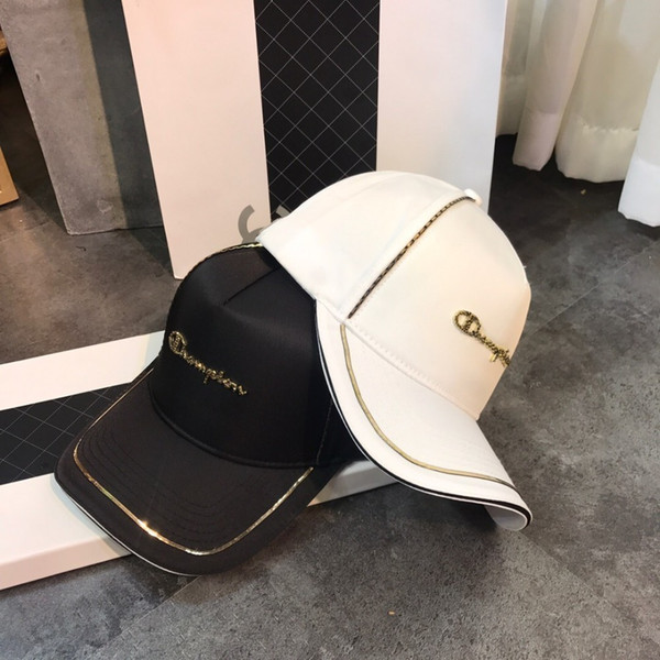 Unisex baseball cap 2019 spring and summer new wave version exclusive smooth fabric launched super high quality couple models
