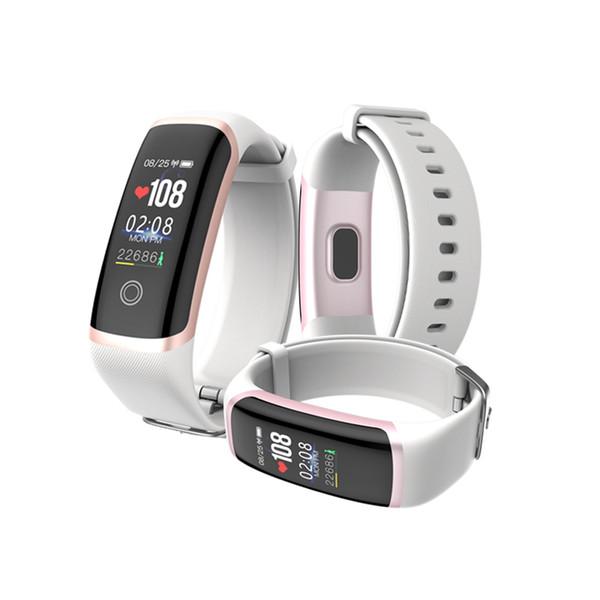 Akıllı Bileklik M4 Spor Bilezik Izci Sweatproof Spor Kalp Hızı Monitörü SMS Çağrı Hatırlatma Uyku Analizi Alarm Clcok