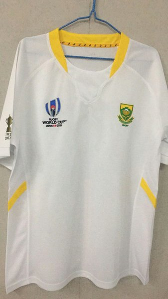 a4f601a2079 2019 Japan Rugby World Cup South Africa 2019 Home Rugby Shirt training  Rugby World Cup South African national team Home Jersey size S-3XL