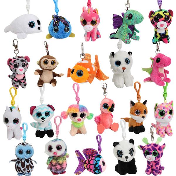 Ty Lindo animal de peluche juguetes de peluche perro Unicornio panda tortuga ciervo tigre squishy Animales muñecas suaves para niños regalos de cumpleaños