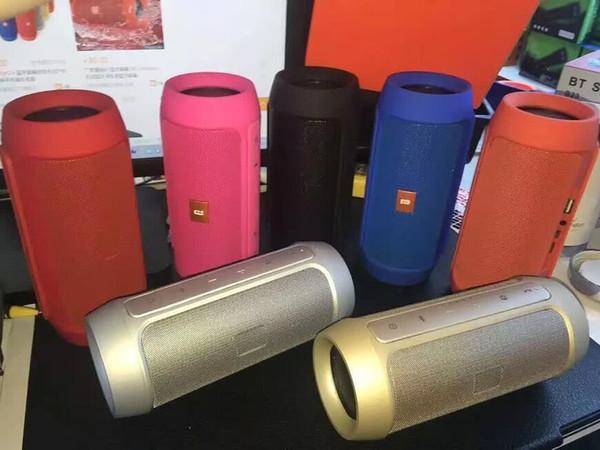 Nuovo arrivo Carica 2+ Bluetooth altoparlante esterno chiamata telefonica Mini altoparlante Altoparlanti Bluetooth impermeabile possono essere utilizzati come Power Bank