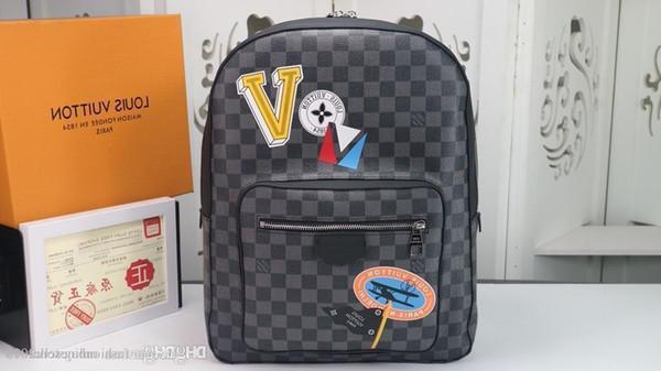 Erkekler S Seyahat Çantaları Kadın Çantası Gerçek Deri Çanta Deri Keepall 45 Omuz Çantaları Tote N64424