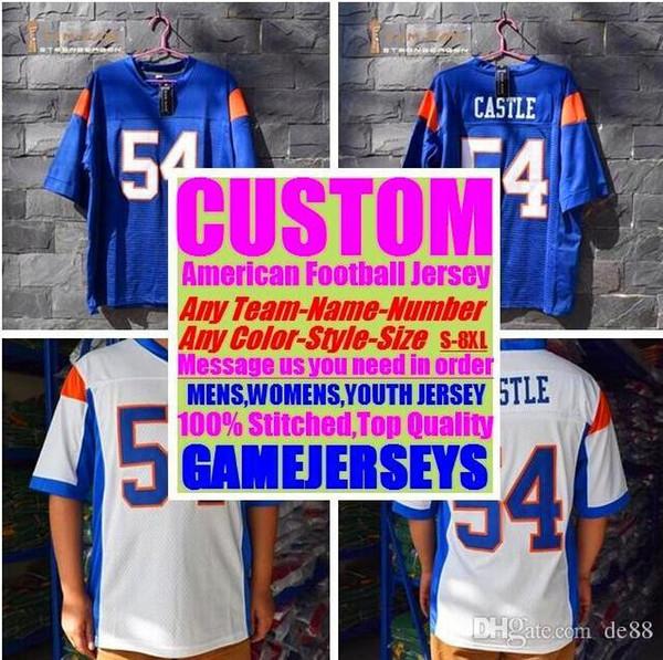 Custom american football jerseys Jacksonville sox college authentic retro rugby soccer baseball basketball hockey jersey 4xl 6xl 8xl vapor