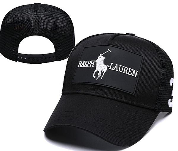 2018 Marka Snapback beyzbol Kapaklar golf Casquette Strapback Beyzbol Şapkası Bboy Hip-Hop Şapka Erkekler Kadınlar Için polo Şapka Siyah Pembe Beyaz kemik kap