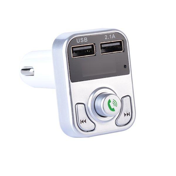 In-Car Bluetooth حر اليدين مشغل MP3 الهاتف إلى راديو FM مرسل B3 اللون: تسليم عشوائي