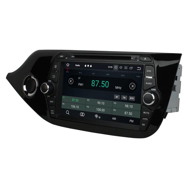 "IPS Android 8.0 PX5 Octa Core 2 din 8"" Car DVD Multimedia GPS for Kia ceed 2013 2014 2015 2016 Radio Bluetooth WIFI USB 4GB RAM 32GB ROM"