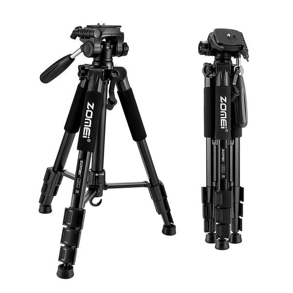 Trípode de cámara SLR, dedicado en vivo, PTZ, se puede utilizar para teléfonos móviles, micro single, SLR universal, rojo, azul negro, oro, naranja y otros
