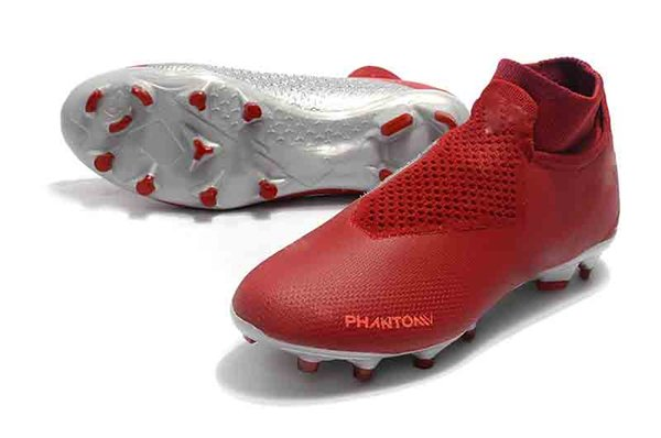 size 40 df328 3dfdb 2018 Black Red Phantom Vision Elite DF FG Football Boots Mens Ankle High  Top Original New Soccer Boots Outdoor Soccer Shoes From Ccl2013, $64.68 |  ...