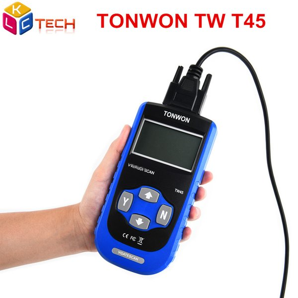 10pcs DHL TONWON TW45 Code Scanner OEM level Diagnostic Scan Tool For Most V--W/A-U--DI Vehicles Sold Worldwide Since 1990