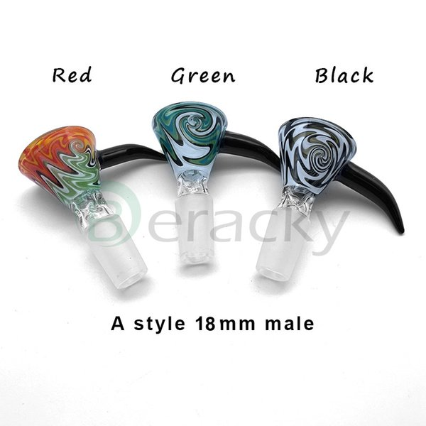 A Style 18mm Male(Color Random Send)