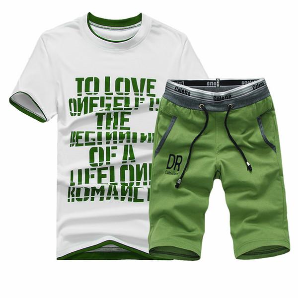 2019 New T-shirt Sets Men Cool Design Summer Tshirt O-neck Men Casual Outwear Tracksuits Brand Clothing Fashion T Shirt Set Men